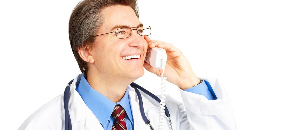 happy-doctor-on-the-phone